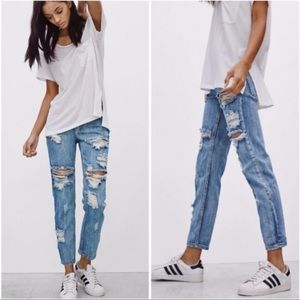 {ONE TEASPOON} Awesome Baggies Distressed Jeans 27